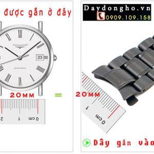 Cách đo size dây đồng hồ