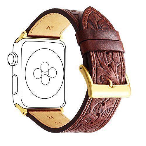 thay dây da điêu khắc cho apple watch