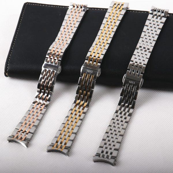 Dây đồng hồ Tissot Size 19mm, Thay dây kim loại cho đồng hồ tissot