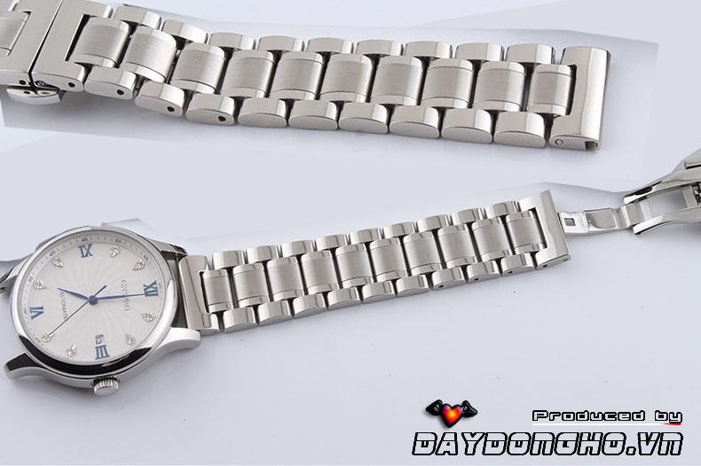 Dây đồng hồ kim loại đúc đầu bằng