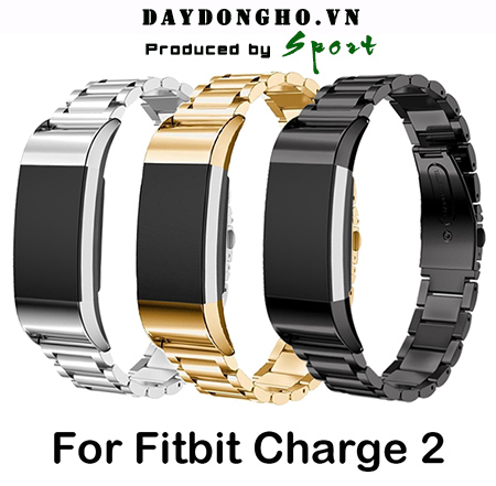 Dây Kim Loại Fitbit Charge 2