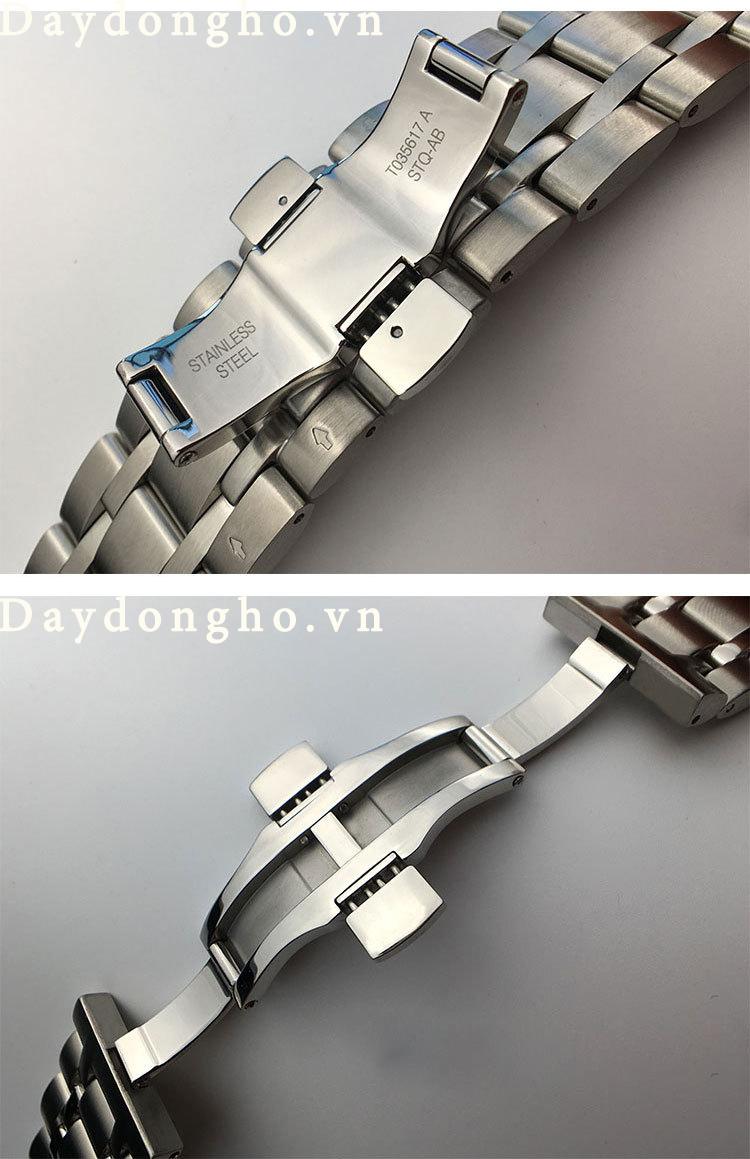 dây đồng hồ tissot kim loại đúc tphcm