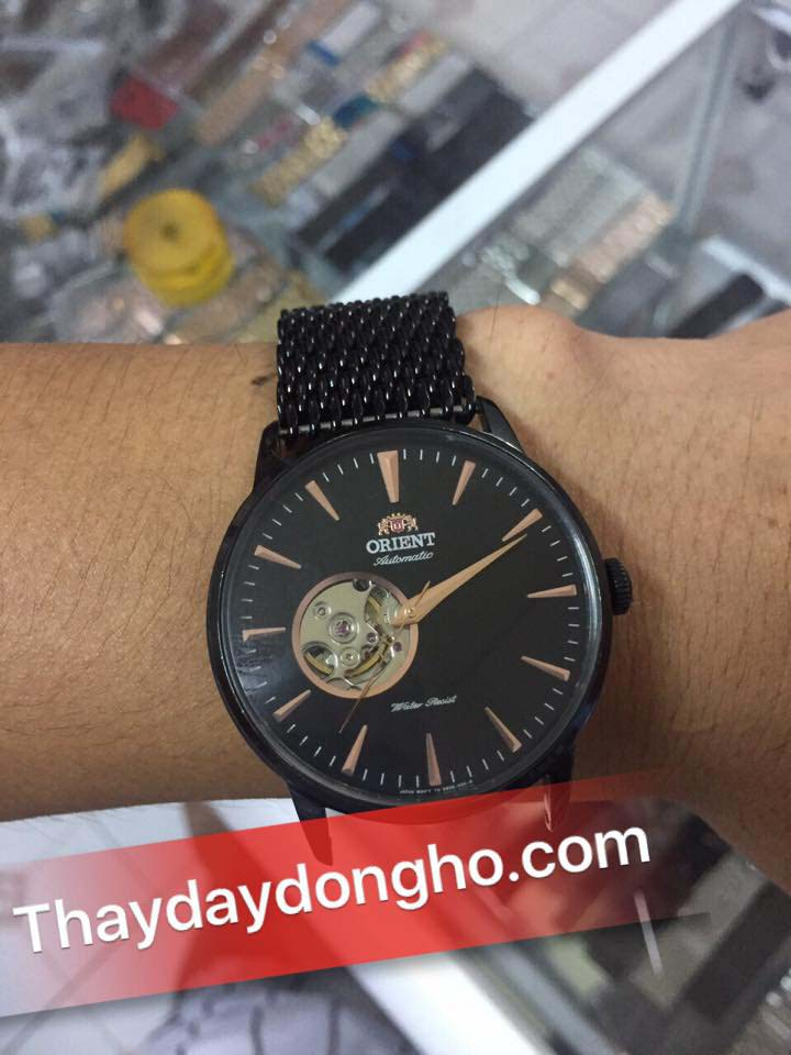 Thay dây đồng hồ kim loại cho orient tại hcm