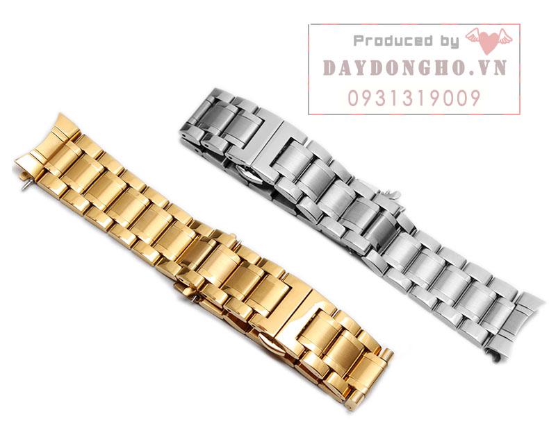 dây đồng hồ kim loại đầu cong vàng
