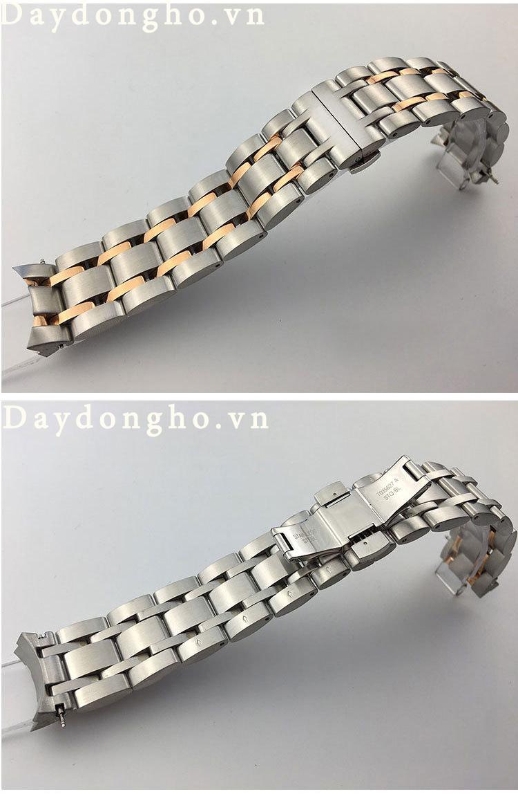 dây đồng hồ tissot kim loại đúc cao cấp